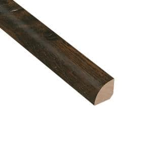 Distressed Lennox Hickory 3/4 in. Thick x 3/4 in. Wide x 94 in. Length Quarter Round Molding