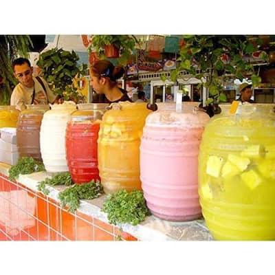 5 Gal. Vitrolero Aguas Frescas Tapadera Plastic Water