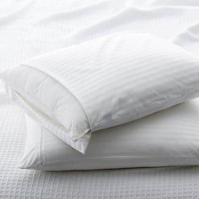 Ultimate Damask Cotton Queen Pillow Protector