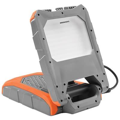 9000 Lumens LED Bluetooth and Plug Socket Work Light