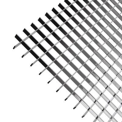 2 ft. x 4 ft. Metallic Lighting Louver (5-Pack)