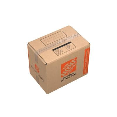 15 in. L x 10 in. W x 12 in. Heavy-Duty Extra-Small Moving Box with Handles (30 Pack)
