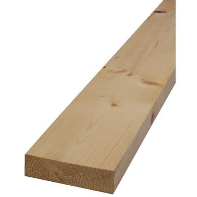 2 in. x 4 in. x 104-5/8 in. Prime Kiln-Dried Whitewood Stud