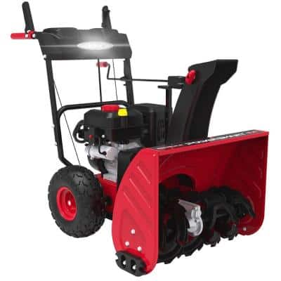 PowerSmart 26-in. 2-Stage Gas Snow Blower with LED Light Electric Start