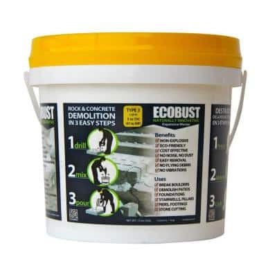 11 lb. Concrete Cutting and Rock Breaking Non-Combustive Demolition Agent Type 3 (41F - 59F)
