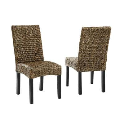 Edgewater Seagrass Dining Chair (Set of 2)