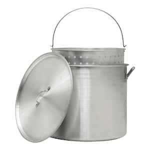 80 Qt. Aluminum Stock Pot and Strainer