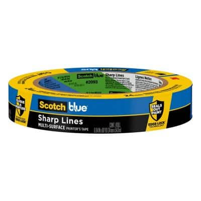 ScotchBlue 0.94 in. x 60 yds. Sharp Lines Painter's Tape with Edge-Lock