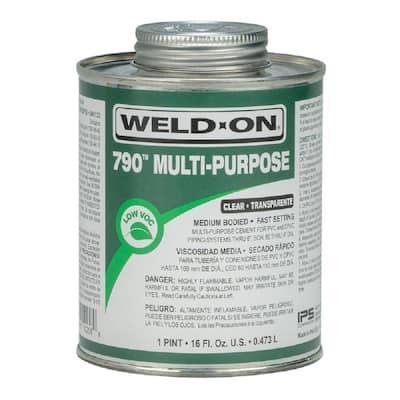16 oz. PVC 790 Multi-Purpose Cement in Clear
