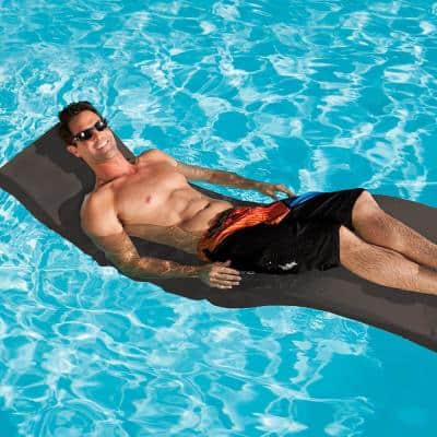 Premium Chaise Brown Poolside and In-Pool Swimming Pool Tanning Lounge