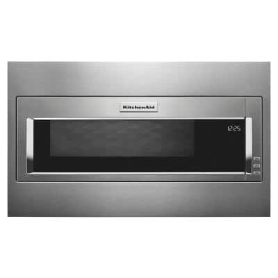 1.1 cu. ft. Built-In with Sensor Cooking Microwave in Stainless Steel