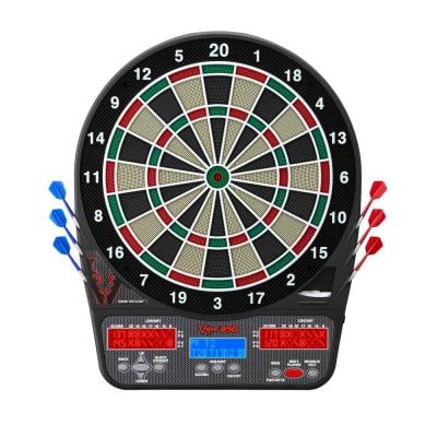 850 Electronic 15.5 in. Dartboard with Darts and Accessories
