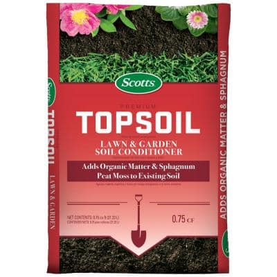Premium 0.75 cu. ft. Top soil