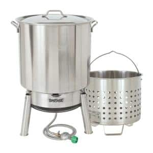 82 Qt. Stainless Steel Steam and Boil Cooker Kit