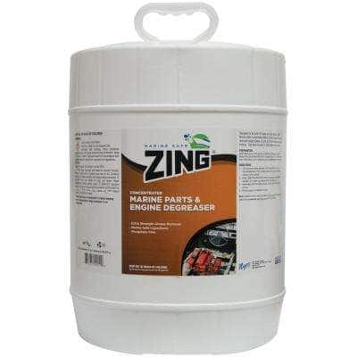 Marine-Safe Concentrated Marine Parts and Engine Degreaser - 5 Gal.