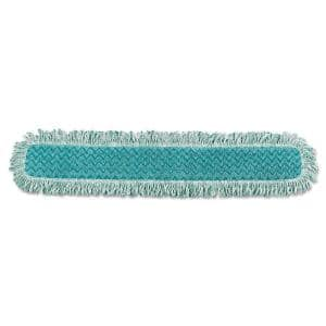 Genuine Joe 36 In W X 5 In D Disposable Dust Cotton Mop Refill Gjo00365ea The Home Depot