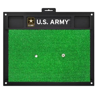 MIL U.S. Army 17 in. x 20 in. Golf Hitting Mat