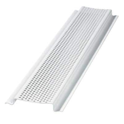 2.85 in. x 96.25 in. Rectangular White Weather Resistant PVC Soffit Vent