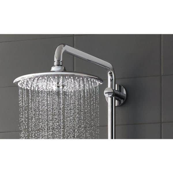 GROHE EUROSMART Shower Rainfall Rain Shower Head 25cm HolHose Rapido E Stick
