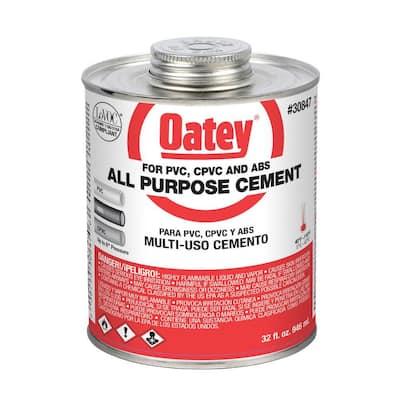 32 oz. Medium Milky All-Purpose ABS, CPVC, PVC Cement