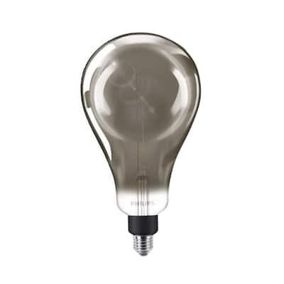 25-Watt Equivalent A50 Dimmable Modern Glass Edison LED Large Light Bulb Cool White (4000K)