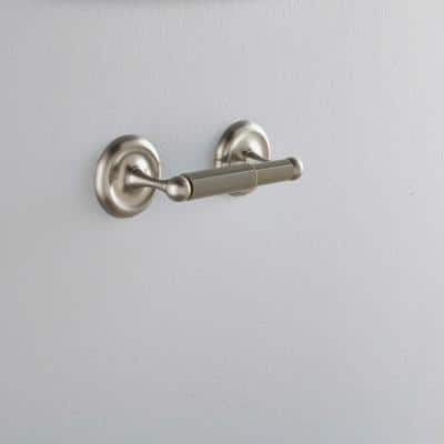 College Circle Toilet Paper Holder in Brushed Nickel