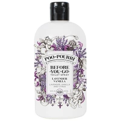 Before You Go 16 oz. Lavender Vanilla Toilet Spray Air Freshener