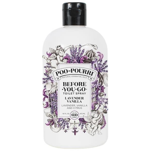 POO POURRI Before You Go 16 oz. Lavender Vanilla Toilet Spray Air Freshener
