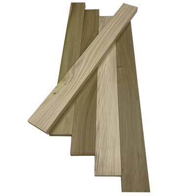 1/2 in. x 3 in. x 3 ft. Poplar S4S Hobby Board (5-Pack)