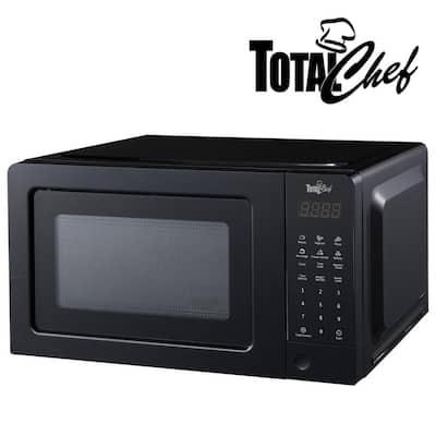 700-Watt Countertop Microwave Oven in Black with Digital Controls (0.7 cu. ft./20 l)