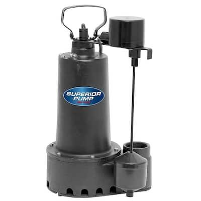 1/2 HP Submersible Cast Iron Sump Pump