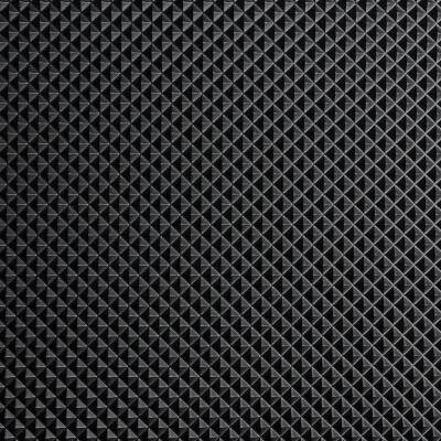 Black Pyramid 36 in. x 25 ft. Antimicrobial Vinyl Commercial Grade Runner Matting
