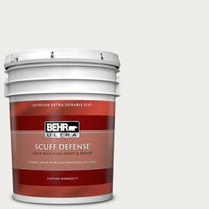 Behr Ultra 5 Gal Ppl 34 Floral Scent Extra Durable Flat Interior Paint Primer 172005 The Home Depot