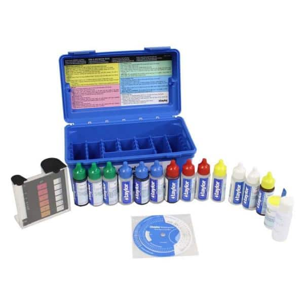 Taylor Complete Swimming Pool Test Kit Fas Dpd Maintenance 2 Pack 2 X K2006 The Home Depot