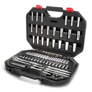 144-Position 1/4 in. and 3/8 in. Drive Mechanics Tool Set (125-Piece)