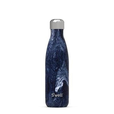 17 oz. Azurite Marble Stainless Steel Bottle Triple Layered Vacuum Insulated Water Bottle