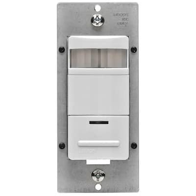Decora 120/277-Volt AC White Occupancy PIR Sensor