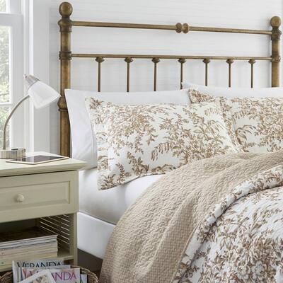 Bedford Floral Cotton Quilt Set