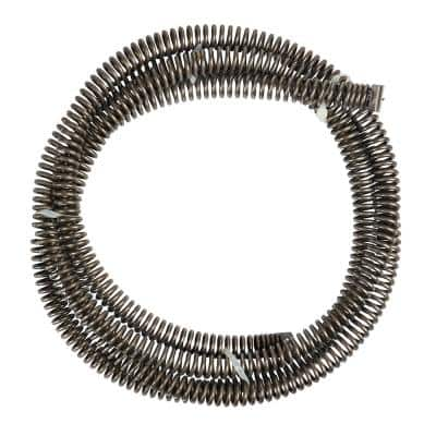 1-1/4 in. x 15 in. Heavy-Duty Open Wind Sectional Drain Cleaning Cable