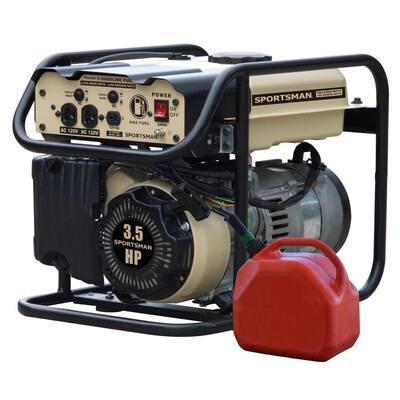 2,000-Watt/1,400-Watt Recoil Start Gasoline Portable Generator