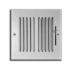 14 in. x 14 in. 2 Way Wall/Ceiling Register