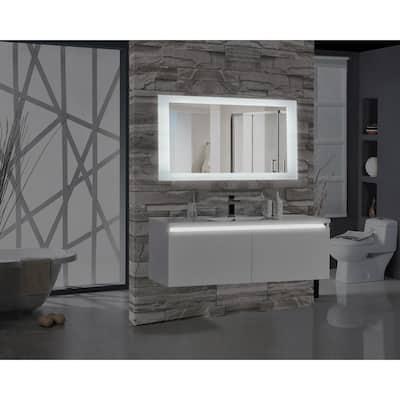 Encore 60 in. W x 27 in. H Rectangular LED Illuminated Bathroom Mirror