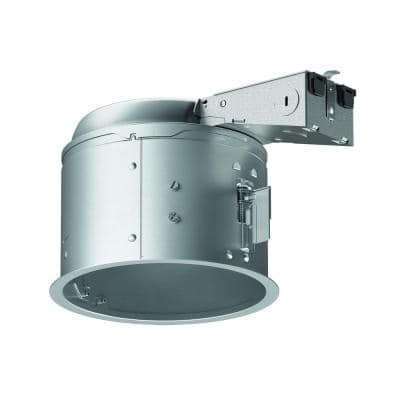 E26 6 in. Aluminum Recessed Lighting Housing for Remodel Shallow Ceiling, Insulation Contact, Air-Tite