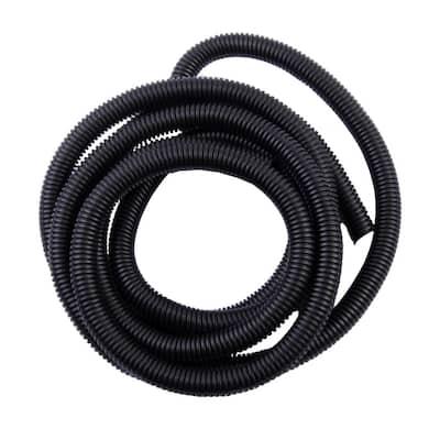 3/8 in. x 10 ft. Split Loom Black (Case of 5)