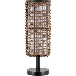 Kit 25.5 in. Black Indoor/Outdoor Table Lamp