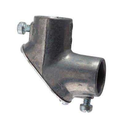 1/2 in. Electrical Metallic Tube (EMT) 90 Pull Elbow