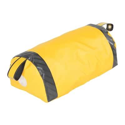 Dock Seal Draft Blocker 24 in. W Yellow