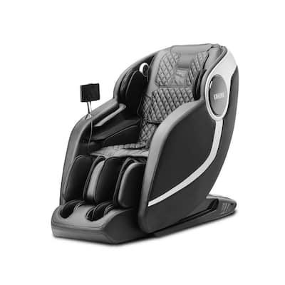 ARETE Black Superior 3D Elite Fully Assembled SL Track Massage Chair