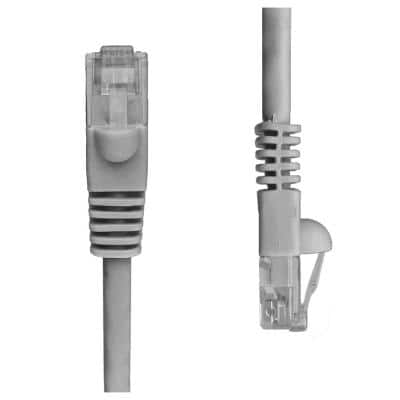 100 ft. Cat5e Snagless Unshielded (UTP) Network Patch Cable, Gray