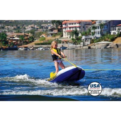 AIRHEAD AHEZ-100 EZ Ski Inflatable Trainer Junior Child Kids Single Skier Tube